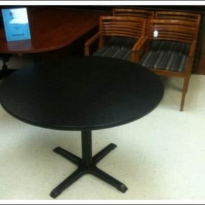 Used Teknion Round Break Room Tables