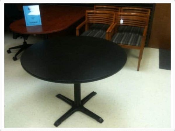 Used Teknion Round Break Room Tables