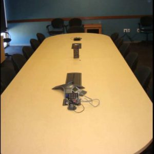 Used 12 Ft Conference Table w/ 2 Power and Data Ports