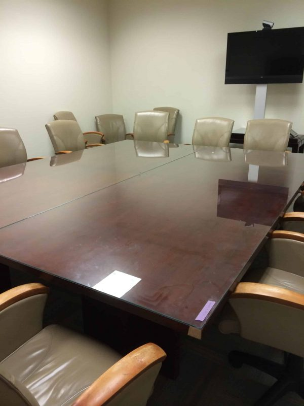 Used 8×10 Wood Conference Table