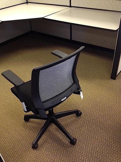Used Executive Mid Back Mesh Chairs