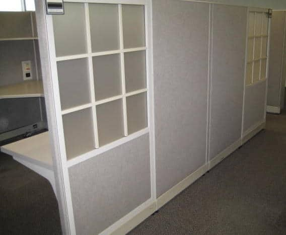 Preowned Haworth Places Cubicle Stations