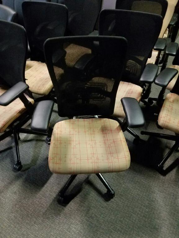 used Haworth Zody Chairs