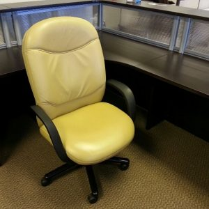 Used Steelcase Vecta Leather Conference Chairs