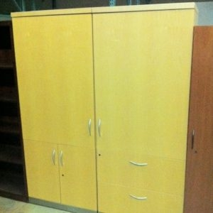 Storage Cabinets w/ Marker Boards