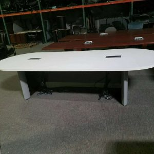 Used 10ft White Conference Table