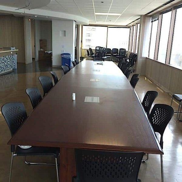 Used 28ft Conference Room Table
