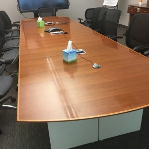 Used Gunlocke Conference Room Table