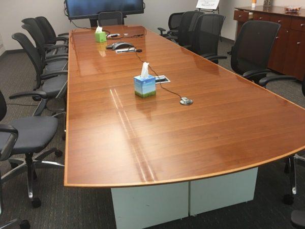 Used Gunlocke Conference Room Table