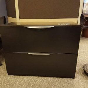 Used Haworth 2 Drawer Laterals