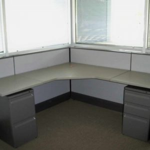Used Herman Miller AO3 cubicles 6x6 low wall