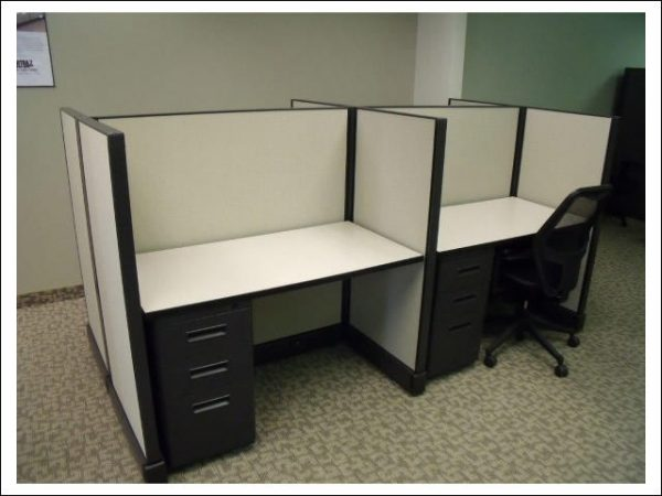 Used Herman Miller AO2 4x2 Cubicles