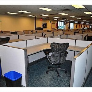 Used Herman Miller AO2 Cubicles 6x6 Low Wall