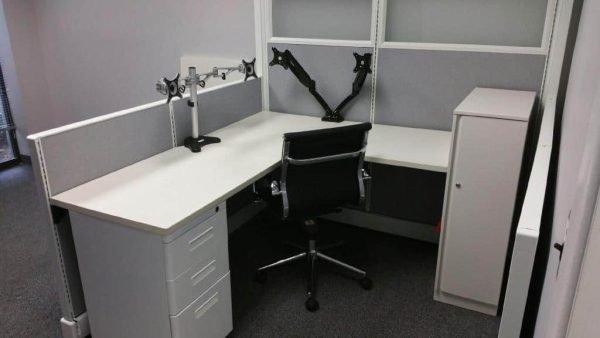 Refurbished AO2 Herman Miller cubicles