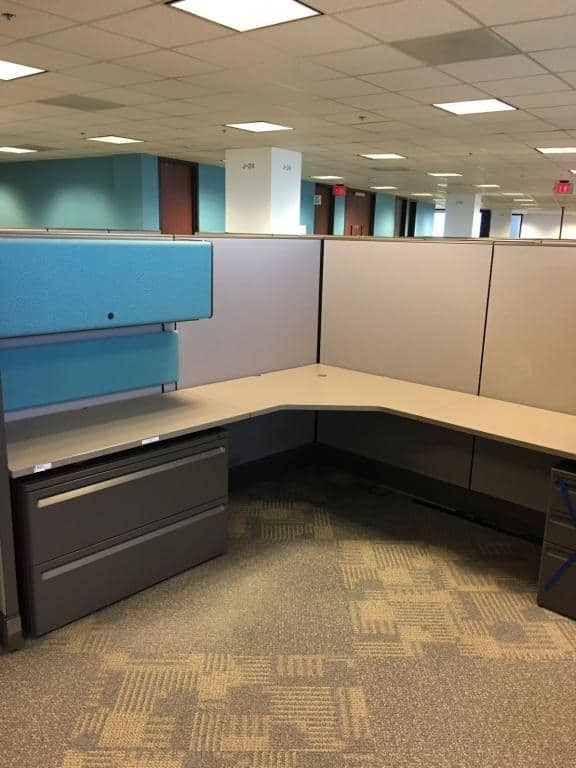 Preowned Herman Miller A03 Stations