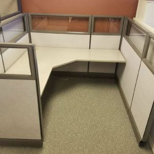 Herman Miller AO2 6x6 6x8 8x8 Cubicles with Glass for sale