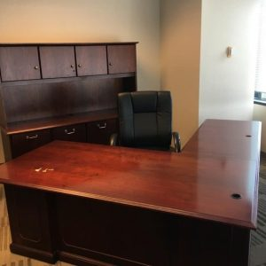 Used National L Shape Desk