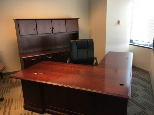 Used National L Shape Desk
