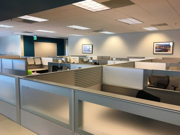 Preowned Teknion Cubicles Used