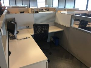 Used Teknion 6x6x53 Cubicles
