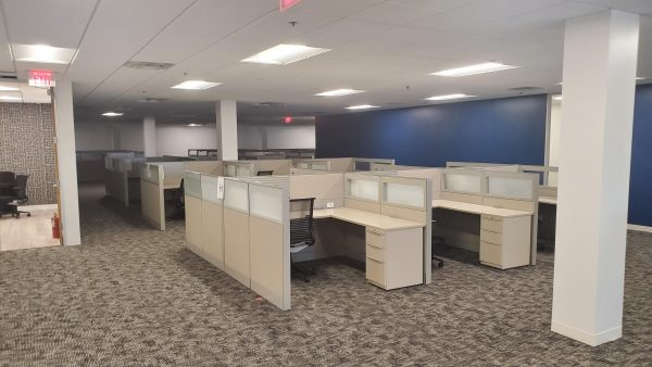 Used Teknion 6x6x53 Cubicles for Sale