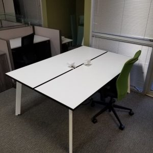 Used Open Plan Benching workstations