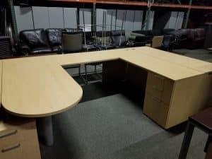 Secondhand Paoli U Shape Desks