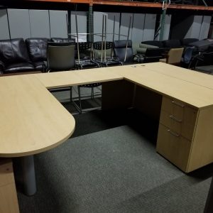 Secondhand Paoli U Shape Desks