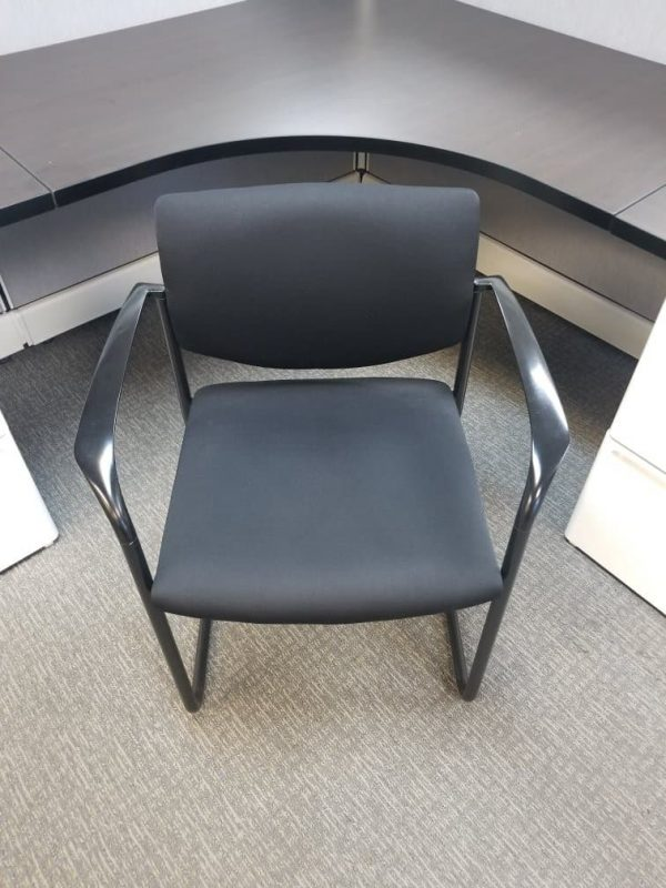 Used Black On Black Steelcase Player Chairs