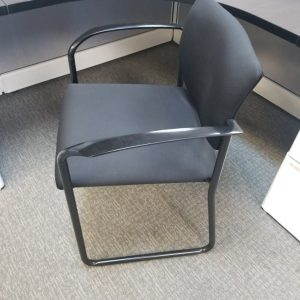 Secondhand Black On Black Steelcase Player Chairs