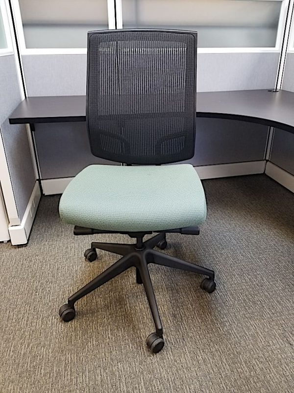 used SitOnIt mesh task chairs