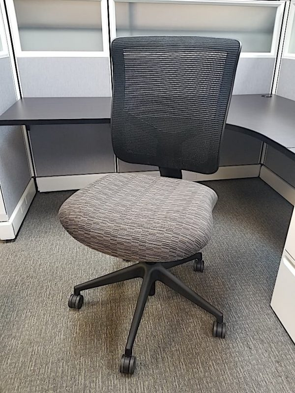 used Allseating Mesh Chairs No Arms