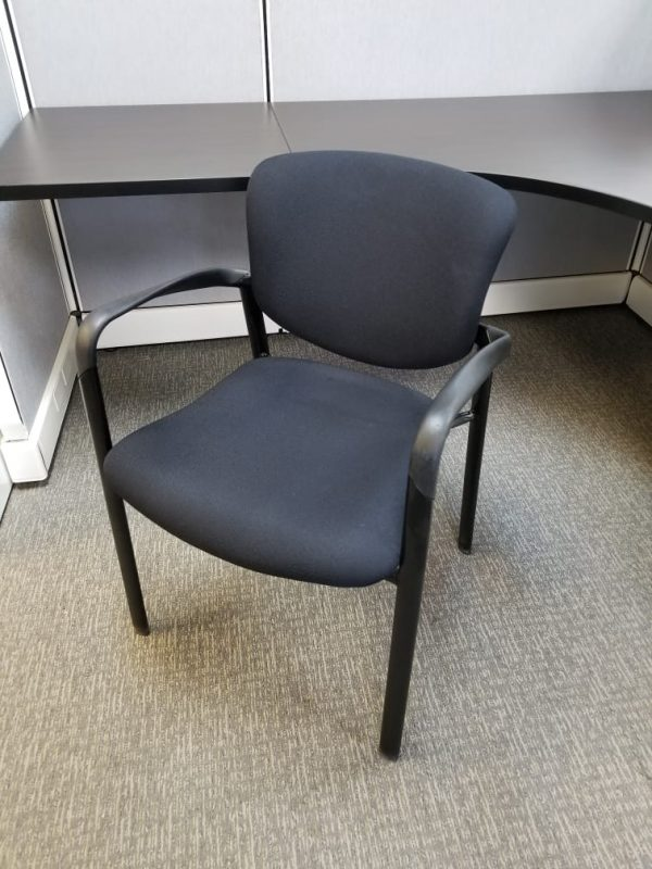 used Haworth Improv guest chairs