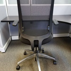 Secondhand Allsteel mesh office chairs