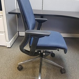 Secondhand Blue Steelcase Think Chairs