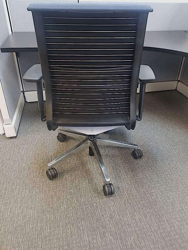 Used Blue Think Chairs by Steelcase