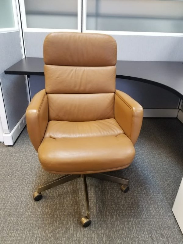 used Executive High Back Leather Chairs