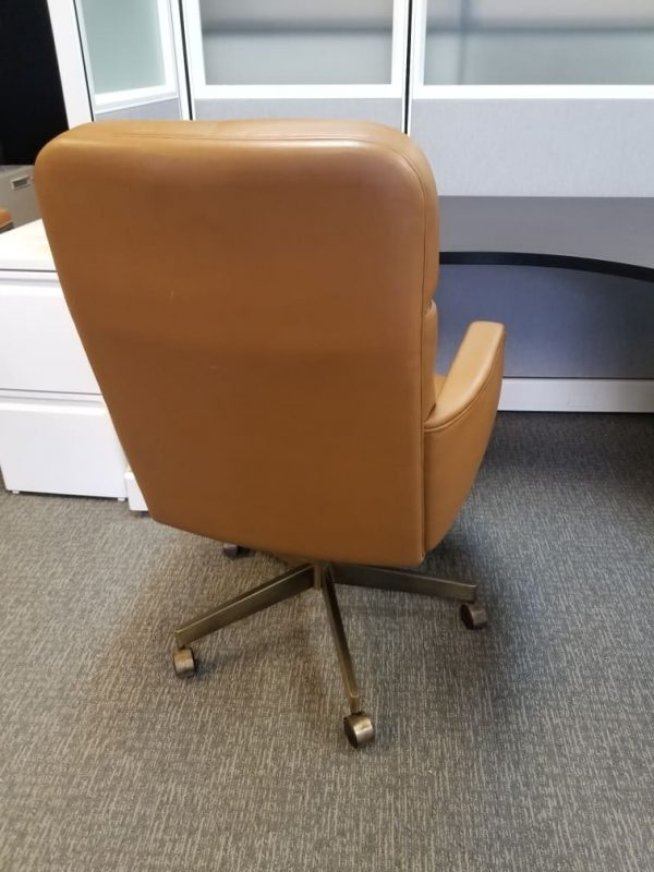 Executive High Back Leather Chairs Used