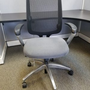 Mesh used Allsteel office chair