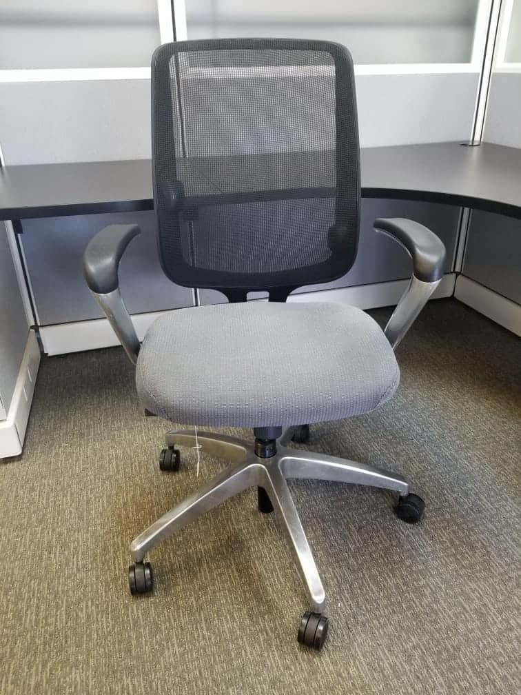used Allsteel mesh chairs