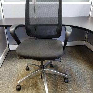 Allsteel mesh office chair used