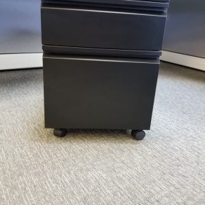 Used BF Mobile Pedestals Color: Black