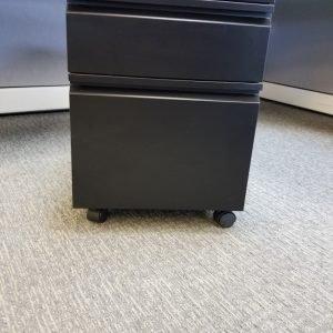 Used BF Mobile Pedestals Color: Black