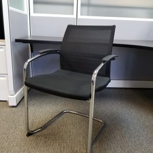 used Knoll Sled Base Guest Chairs