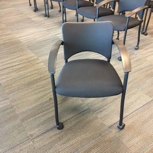 Used Teknion Amicus Chairs With Casters
