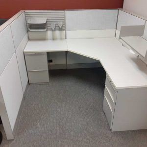 Used Teknion Cubicles 6x6x53 - For Sale