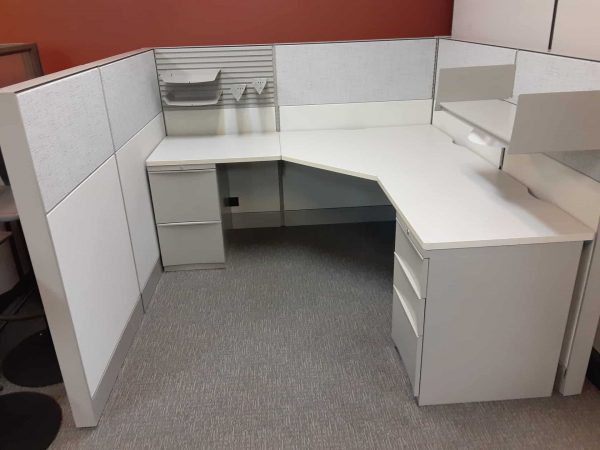 Secondhand Teknion Cubicles 6x6x53 - For Sale