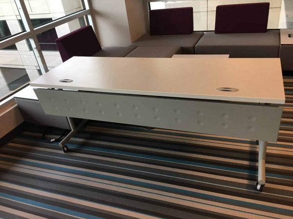 Used Teknion Mobile Training Tables