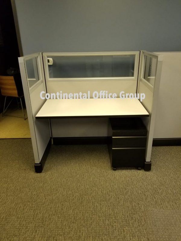 4x2x53 Herman Miller AO2 Cubicles for Sale