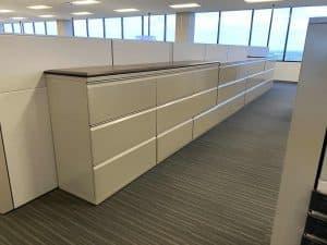 used Herman Miller 3 Drawer File Cabinets for sale